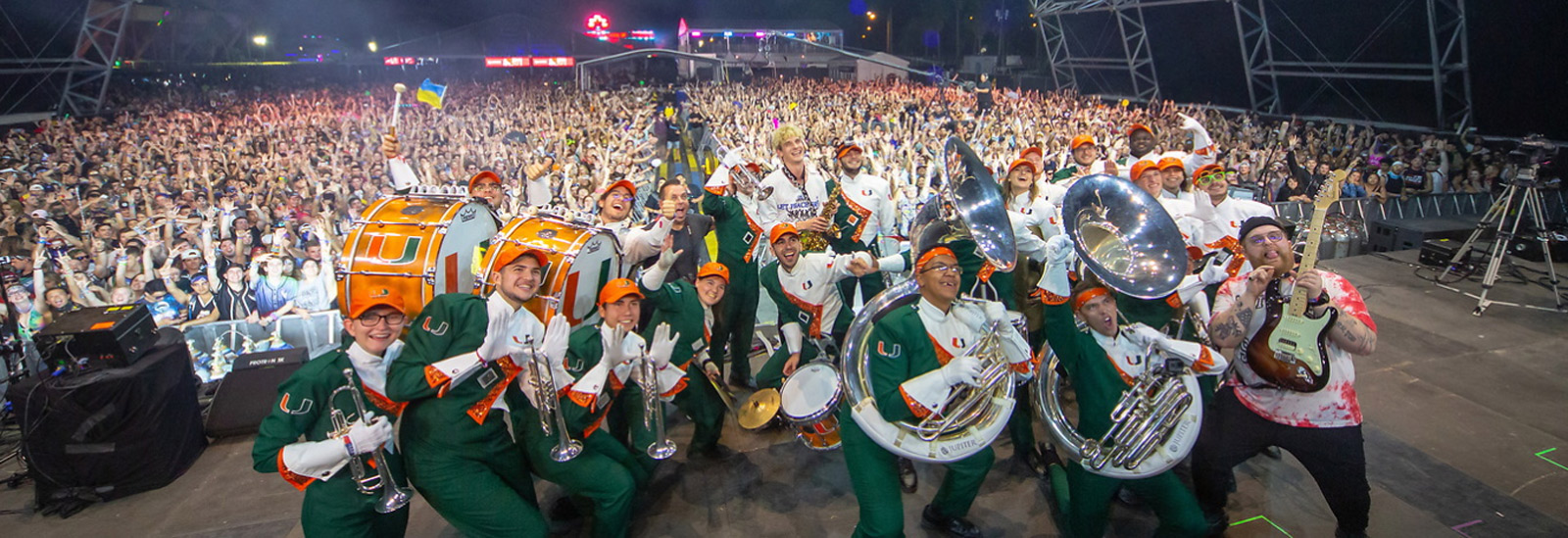 University of Miami, Band of the Hour, Frost School of Music, Ultra, Ultra Music Festival