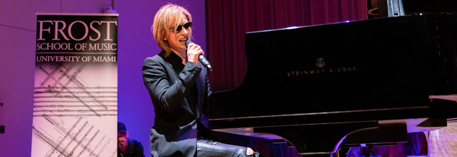 Yoshiki, Frost School of Music, X Japan